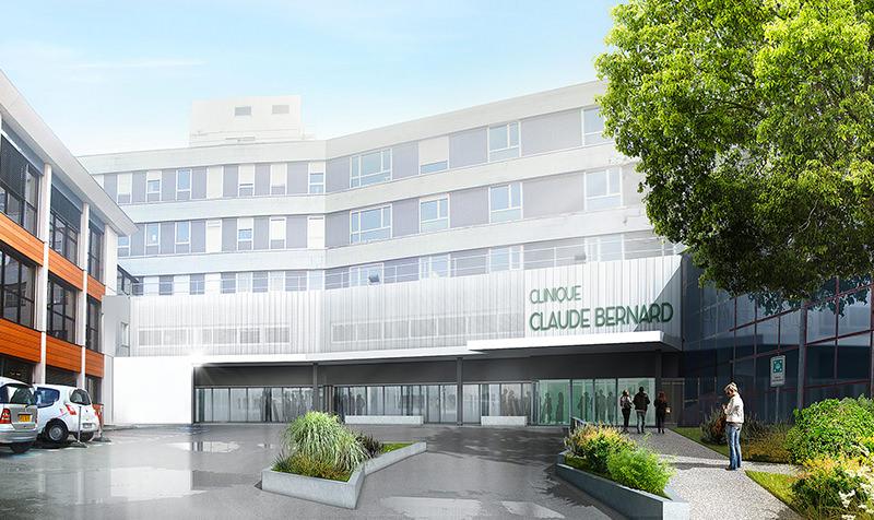 Restructuration et extension de la Clinique Claude Bernard (Groupe ELSAN) à Albi
