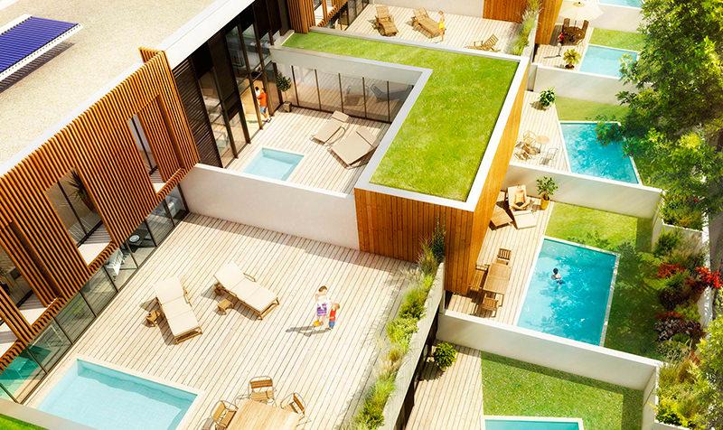 Construction de 20 logements BBC à Blagnac