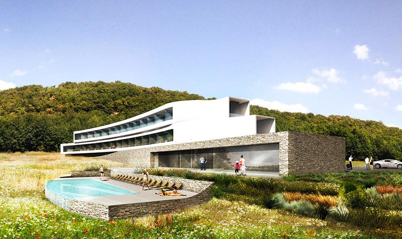 Un complexe hôtelier inscrit dans le paysage lotois