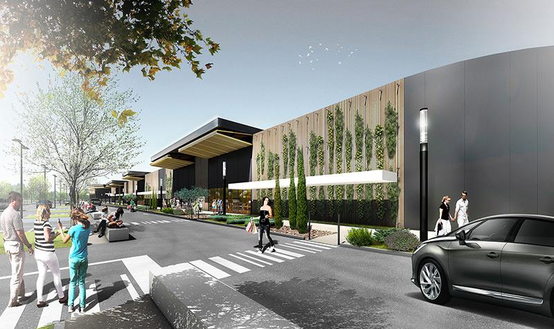 Un projet commercial structurant d'une entrée de ville…