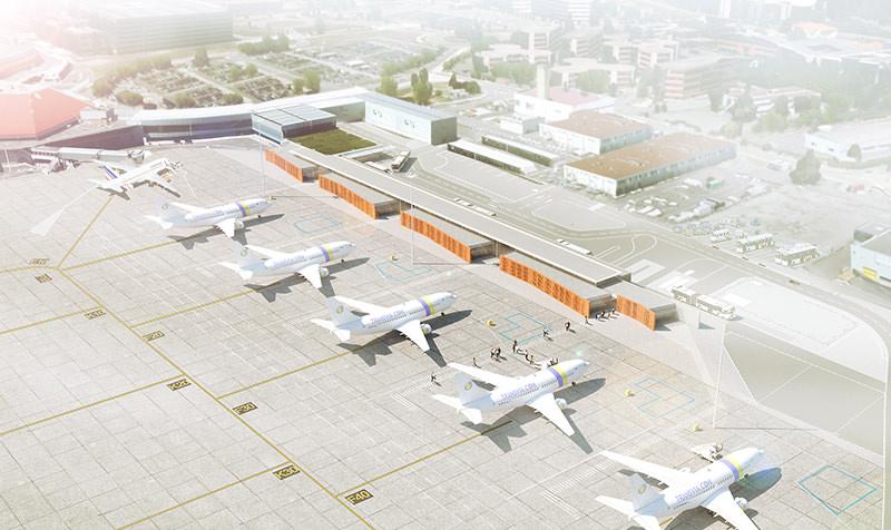 Extension du hall A de l'Aéroport Toulouse-Blagnac