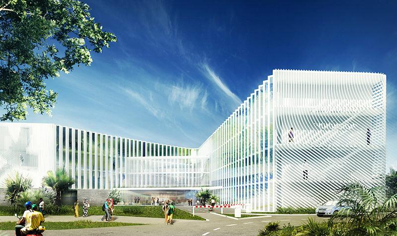 Hôtel d'entreprises et laboratoires des sciences du vivant